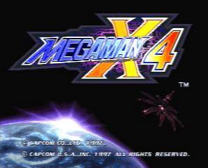 Megaman X4 > Playstation(PSX) ROM