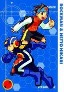 EXE1-01 Rockman & Netto Hikari