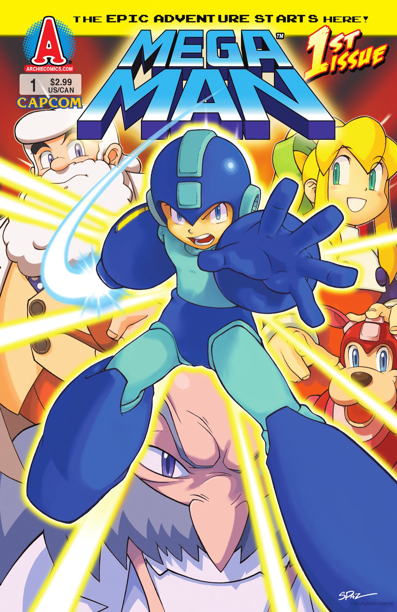 Mega Man Issue 1  Archie Comics