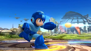 Mega Man running shot