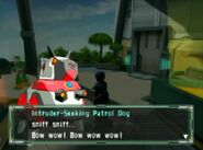 Patrol dog screen