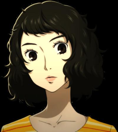 P5 portrait of Sadayo Kawakami
