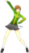 P4D Chie Satonaka winter school uniform change