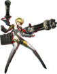 Shadow Aigis P4A Ultimax Artwork