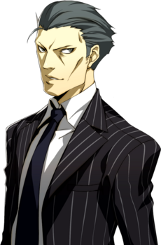 Detective Kurosawa portrait in P4A