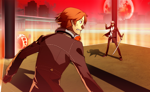File:P4AU (P4 Mode, Yosuke vs Shadow Yu).png