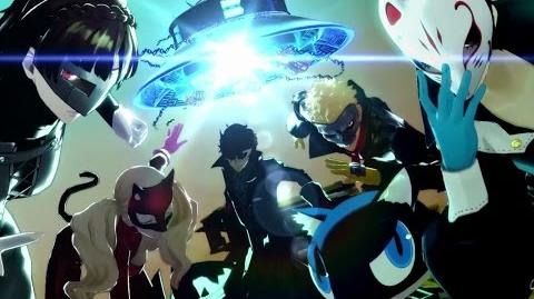 Persona 5 Sizzle Trailer ENG