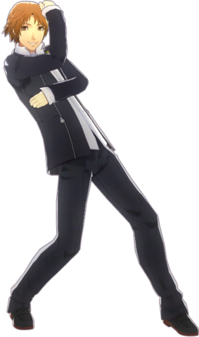 File:P4D Yosuke Hanamura Gekkou Uniform (Limited Edition Included - DLC) change.png