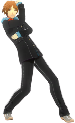 File:P4D Yosuke Hanamura School Uniform Midwinter change free DLC.png
