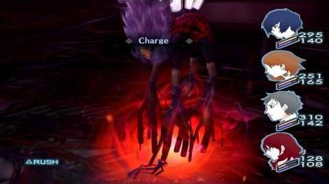 Persona 3 FES The Journey Full Moon Boss Hermit Hard
