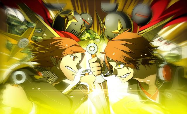 File:P4AU (P4 Mode, Yosuke vs Fake Yosuke).png