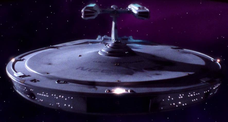 Constellation Class Starship Model