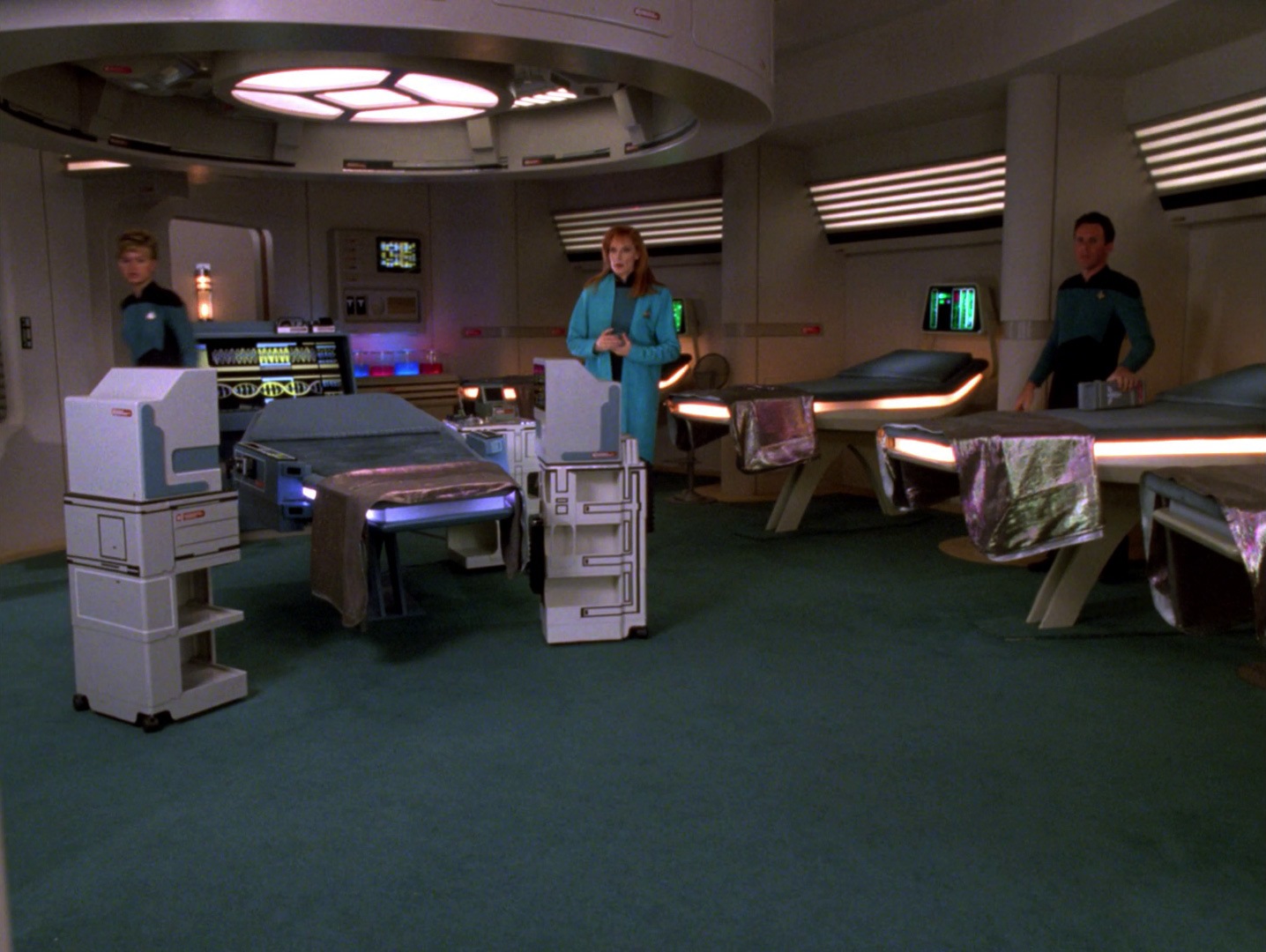Sickbay Memory Alpha Fandom Powered By Wikia