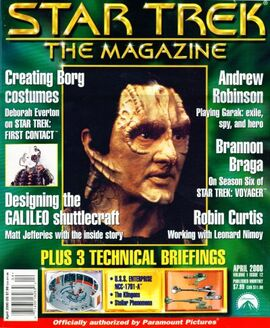 Star Trek: The Magazine Volume 1, Issue 12 - Memory Alpha ...