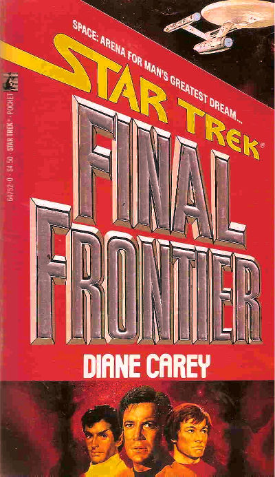 Image result for star trek final frontier