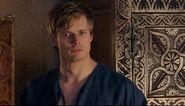 Arthur blushing