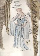Cartoon gown