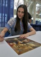 Katie McGrath Comic Con 2011-2