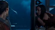 Freya meets Merlin