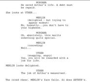 Merlin Series 1 Episode 1 Script Origional Version