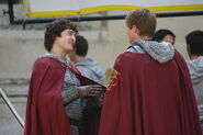 Alexander Vlahos and Bradley James Behind The Scenes Series 5-2