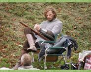 Rupert Young Behind The Scenes Series 4