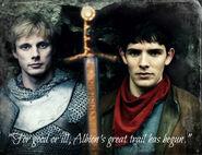 Arthur,Excalibur,Merlin