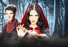 Merlin and Morgana Painting Edit