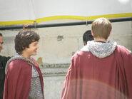 Bradley James and Alexander Vlahos Behind The Scenes Series 5-1