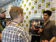 Colin Morgan Comic Con 2012-1