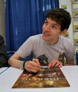 Colin Morgan Comic Con 2011