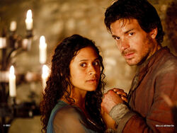 lancelot and guinevere merlin wiki bbc tv series