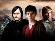 Cornelius Sigan, Arthur, and Merlin