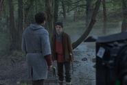 Colin Morgan Behind The Scenes Series 4-3