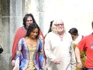 Angel Coulby and Richard Wilson Behind The Scenes Series 4-1