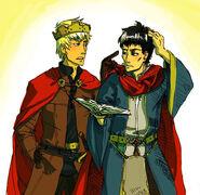 Merlin+arthur85fanart