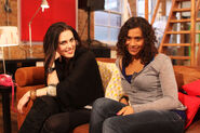 Katie McGrath and Angel Coulby-9