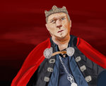 King uther speed painting by deafhpn-d4fnuha
