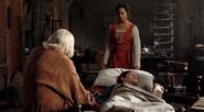 Gaius Gwen and Merlin