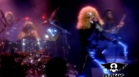 Crimson Glory - Lonely (HQ music video)