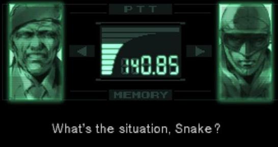 Snake Codec Pixel Painting by RubiksPhoenix on DeviantArt