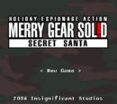 Merry Gear Solid: Secret Santa