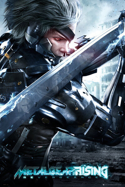 File:Metal gear rising cover maxi poster raw.jpg