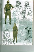 Kazuhira Miller artwork in bonus art packet 001