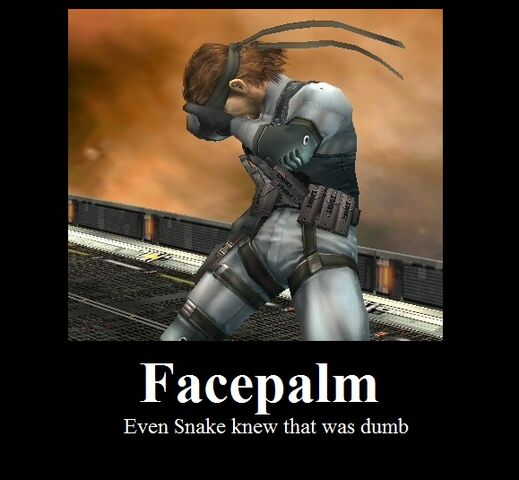File:Solid Snake Facepalm.jpg