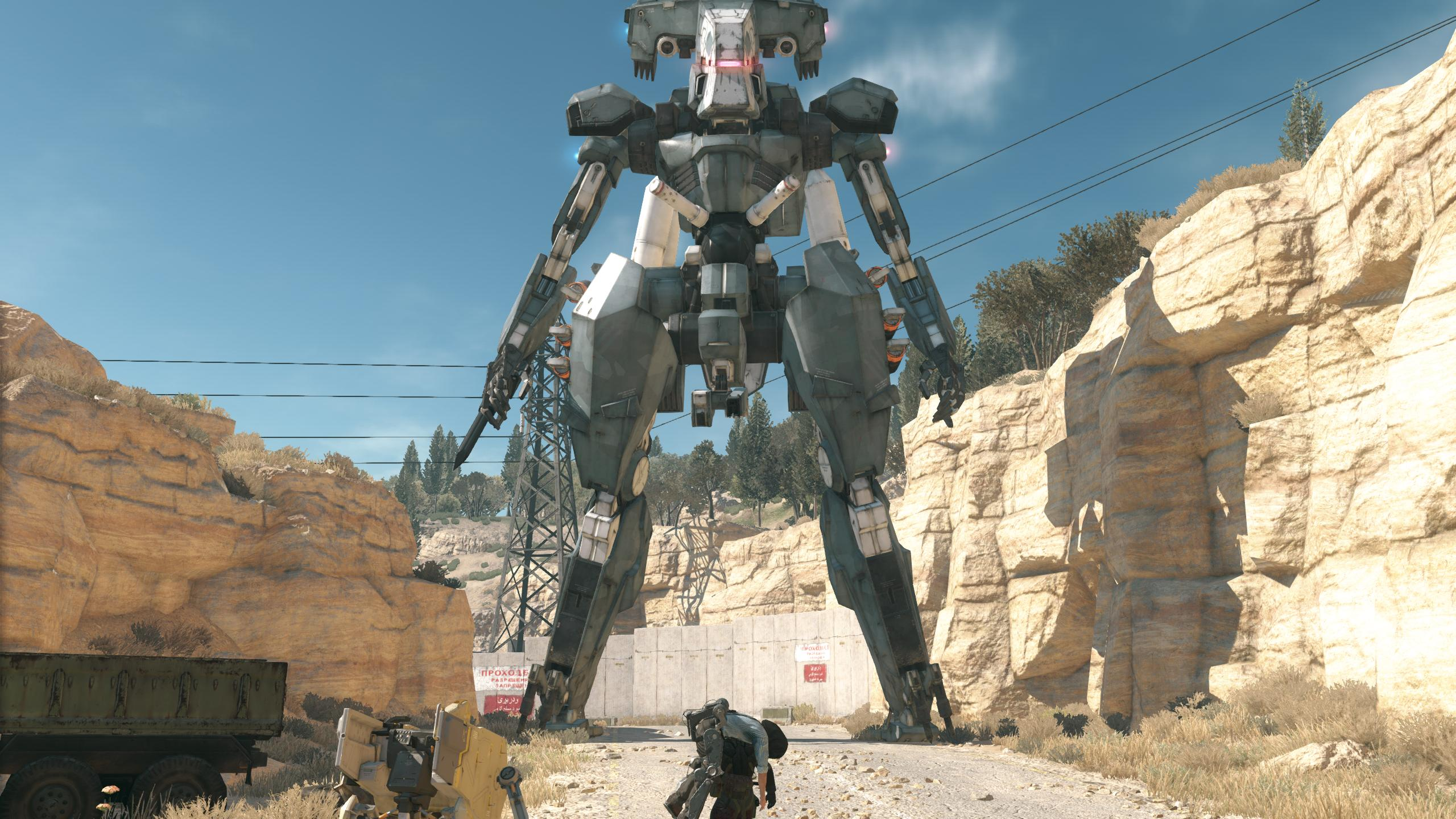 Kojima talks about the inspiration behind MGSV's Metal Gear ...