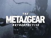 Metal Gear Retrospective title