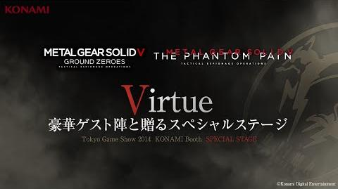 【TGS2014】METAL GEAR SOLID V THE PHANTOM PAIN Special Stage -Virtue- (豪華ゲストとTGS振り返り)