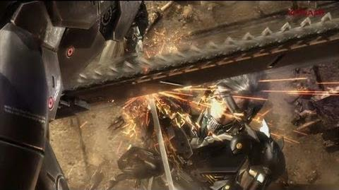 METAL GEAR RISING REVENGEANCE - GC 2012 TRAILER