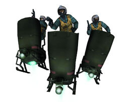 Mgs3 flying platforms